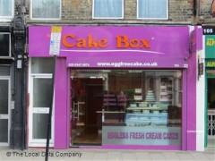 Eggfree Cake Box London