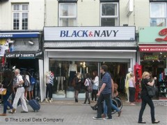 Black & Navy, exterior picture