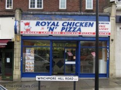 Royal Chicken N Pizza 10 The Broadway London Fast Food