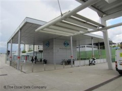 Stratford International DLR Station, exterior picture