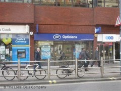 Boots Opticians, exterior picture