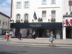 Moss Bros, exterior picture