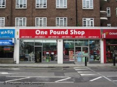 One Pound Shop, 180-182 Queensway, London - Discount Store