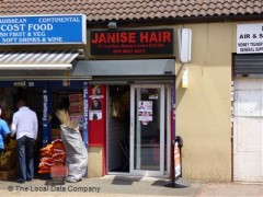 Janise Hair, exterior picture