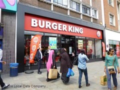 Burger King, exterior picture