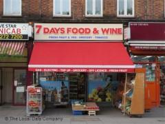 7 Days Food & Wine image