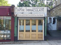 Hair Immaculate, exterior picture