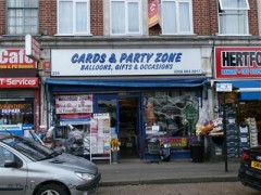 Cards & Party Zone, exterior picture