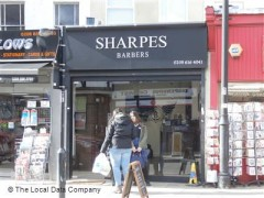 Sharpes Barbers, exterior picture