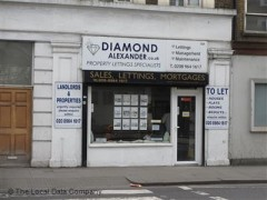 Diamond Alexander, exterior picture