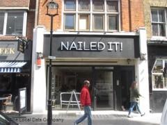 Nailed it 49 berwick street london nail salons near for Nail salon oxford