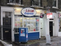 Local Express, exterior picture