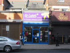 St. Luke\'s Hospice Shop, exterior picture