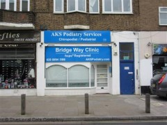 AKS Podiatry, exterior picture