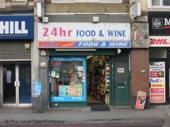 24hr Food & Wine image