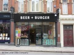 Beer + Burger image
