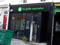 The Gorilla Organization, exterior picture