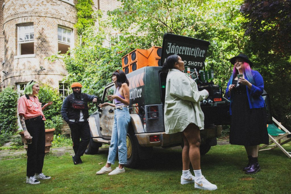 Jägermeister brings the bar to you this summer with the launch of their Ice Cold Convoy image