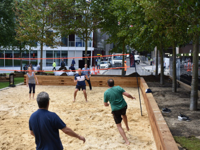 Beach Badminton at Merchant Square image