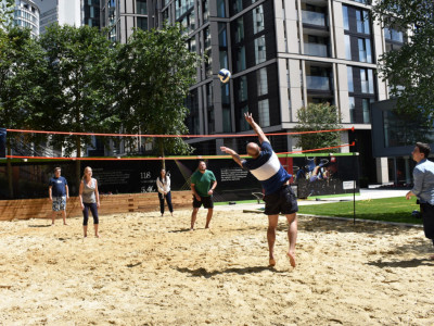 Beach Volleyball at Merchant Square image