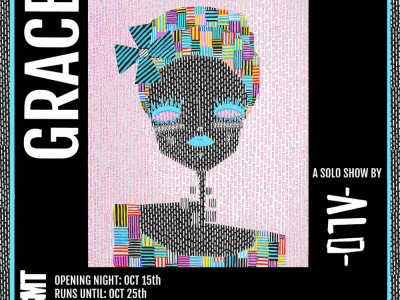 BSMT presents 'Grace' a solo show by street artist ALO image