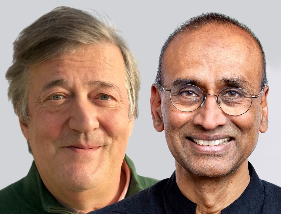 An evening with Stephen Fry and Venki Ramakrishnan image