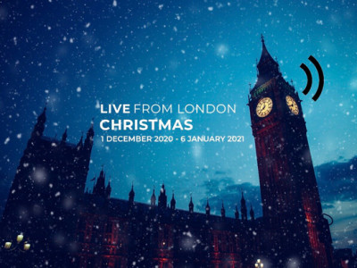 LIVE From London Christmas image