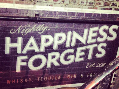 Happiness Forgets image
