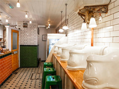 London toilets with pazazz!  image