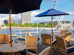 London's best restaurants on the river image