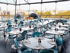 Shop and re-fuel: London's top department store restaurants image
