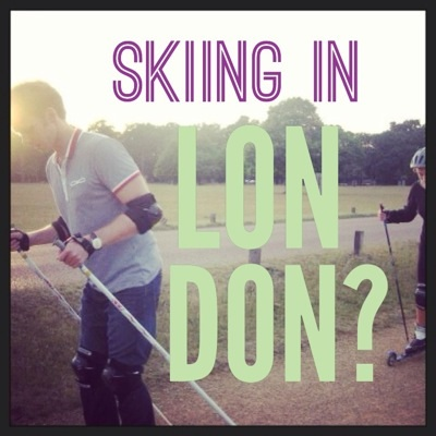 Skiing?  In August?  In LONDON??? image