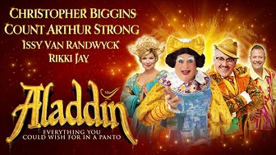 It's Panto time! Aladdin at Richmond Theatre with Christopher Biggins image