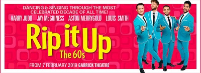 Music and dance from the Swinging Sixties at Rip it up! At The Garrick image