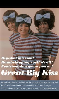 Great Big Kiss soul club image