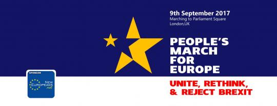 People's March for Europe image
