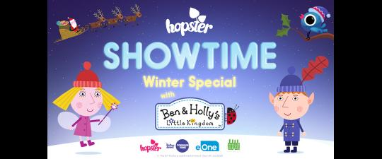 Hopster Showtime Winter Special with Ben and Holly image