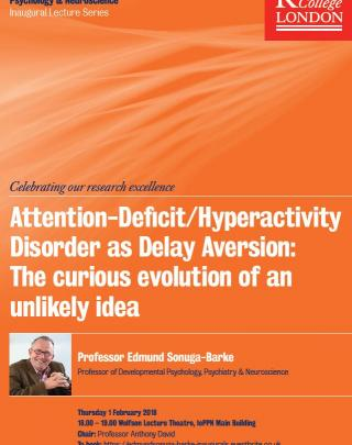 Attention Deficit/Hyperactivity Disorder as Delay Aversion: The Curious Evolution of an Unlikely Idea image