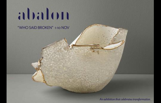 "Exhibition by Abalon to celebrate the beauty of 'broken' porcelain ""Who Said Broken"" image"