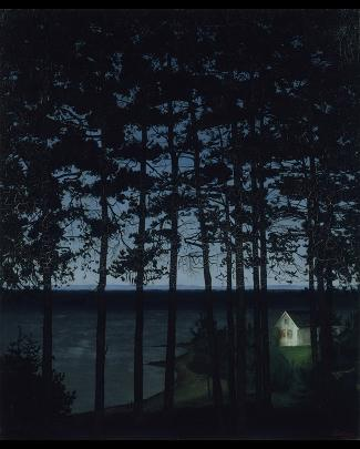 Harald Sohlberg: Painting Norway image