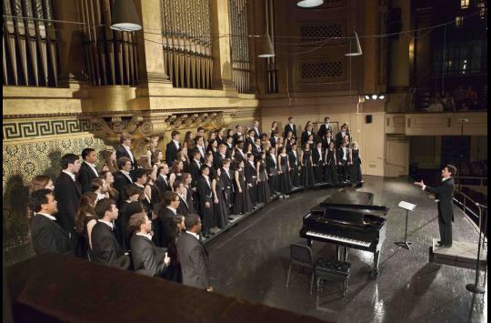 Yale Glee Club presents Bernstein alongside The Choir With No Name image