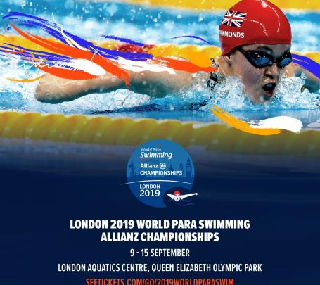 London 2019 World Para Swimming Allianz Championships image