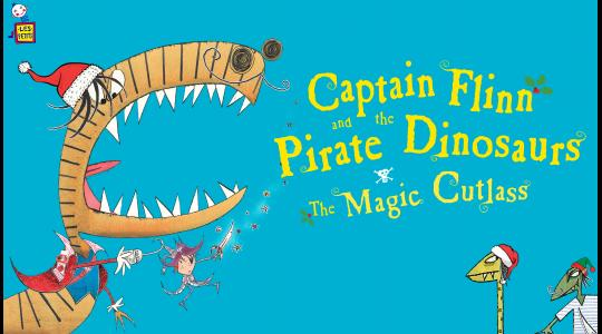 Captain Flinn and the Pirate Dinosaurs: The Magic Cutlass image