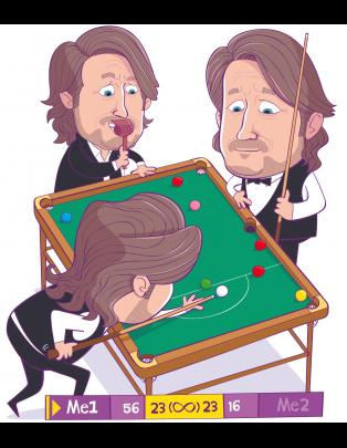 Richard Herring: Me 1 vs Me 2 Snooker image