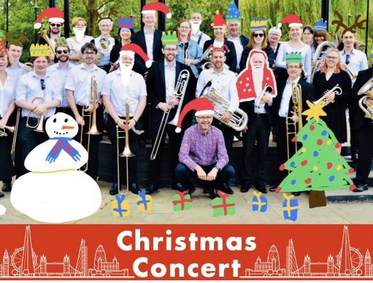 London City Brass present a Christmas concert image