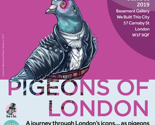 Pigeons Of London - An Art Exhibition And Pop Up Shop image