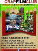 Crap Film Club presents Xmas Double: Troll 2 & Best Worst Movie image
