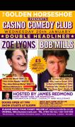 Golden Horseshoe Presents Casino Comedy Club with Bob Mills & Zoe Lyons image