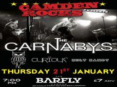 Camden Rocks presents The Carnabys and more at Camden Barfly image
