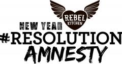 Rebel Kitchen's New Year Resolution Amnesty Pop-up Event image